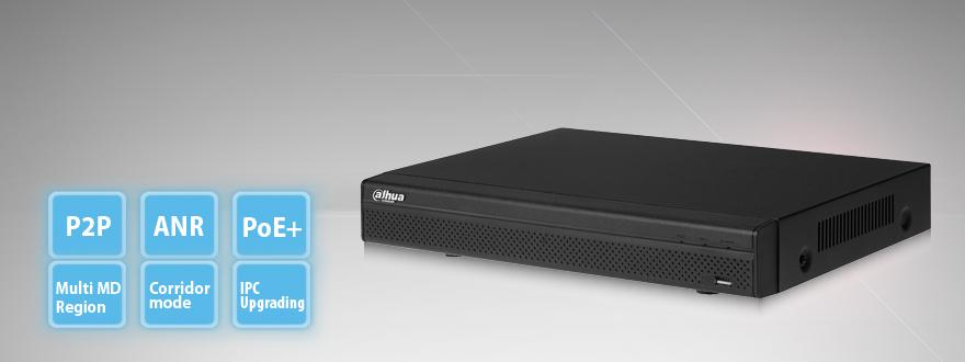 8-канальный сетевой видеорегистратор 1U NVR4208