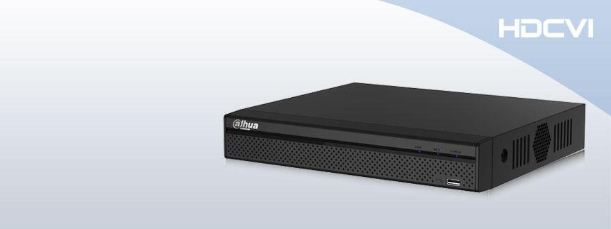 Видеорегистратор DVR 720P Lite Compact 1U HDCVI на 4 канала HCVR4104HS-S2