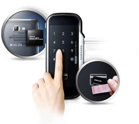 электронный дверной замок для стеклянных дверей открывается с помощью пароля и пин кода
