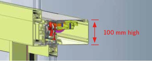 ST FLEX Green применяется только с операторами высотой 100 мм