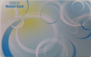 В комплект поставки входит одна мастер-карта